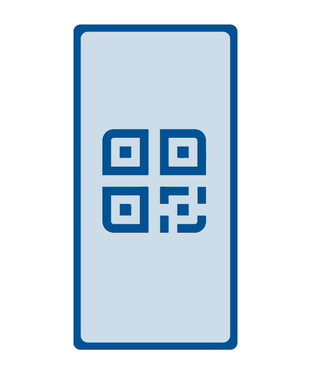 mobile QR code visualization